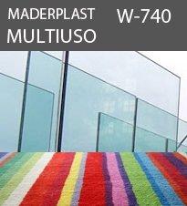 W740 vidrio alfombra C